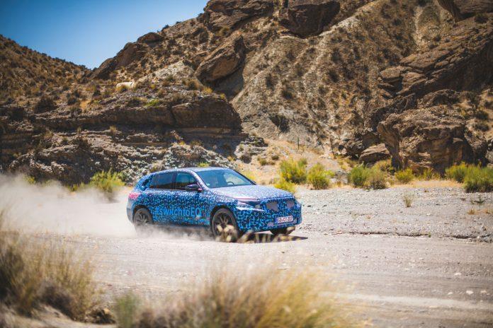 Mercedes-Benz EQC realiza testes de Verão na Península Ibérica