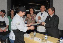 Chefs de Cozinha Japonesa receberam Diplomas reconhecidos pelo Governo Japonês