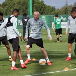 Sporting treinou em Alcochete antes de partir para a Turquia
