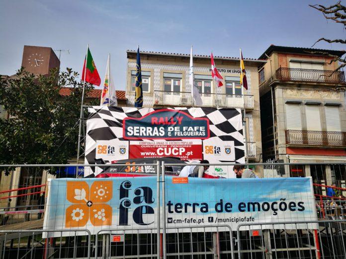 RALLY SERRAS DE FAFE E FELGUEIRAS - O PRIMEIRO DIA