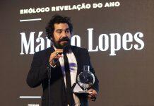 """Márcio Lopes conquista os """"Óscares"""" do Vinho para Enólogo Revelação e de Prémio Singularidade 2019"""