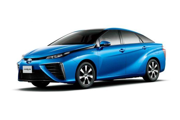 Toyota Mirai testado pelo Parlamento Europeu