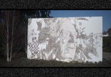 Mural de Vhils materializa homenagem a Fernando Guedes