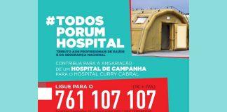 #TODOSPORUMHOSPITAL | ajude a criar um Hospital de Campanha para reforço do Hospital Curry Cabral