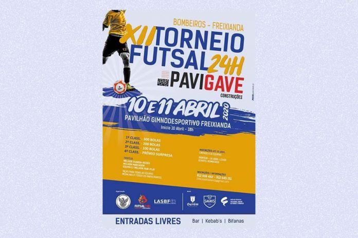 XII Torneio de 24 Horas de Futsal de Freixianda