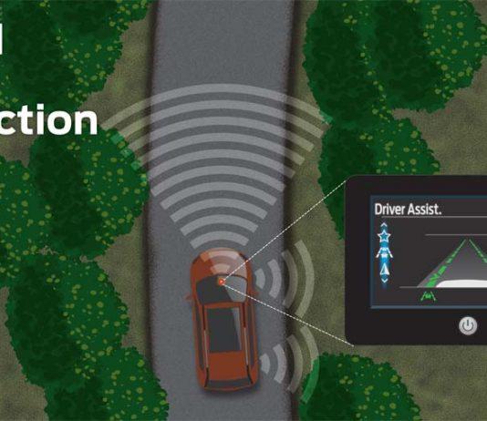 Nova tecnologia afasta o condutor da beira da estrada para uma rota de condução mais confortável