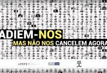 """""""Não cancelem a Cultura""""é o apelo de 1600 autores e artistas"""