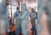 Covid-19 | Marinha realiza descontaminação em Centro de Apoio Social