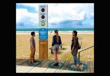 Torniquete Virtualcomsemáforo luminoso
