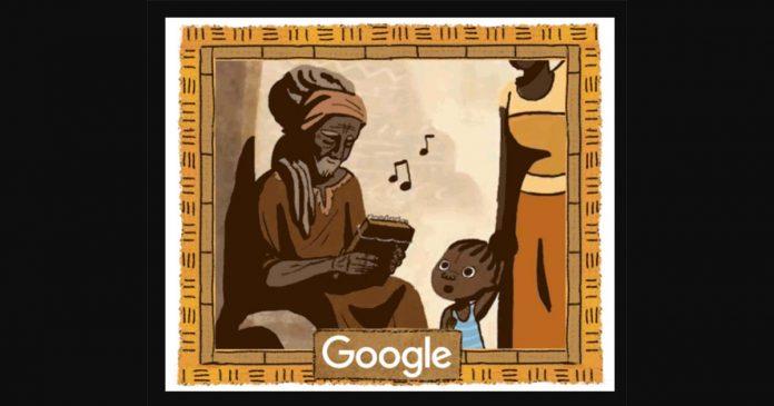 Google Doodle mbira