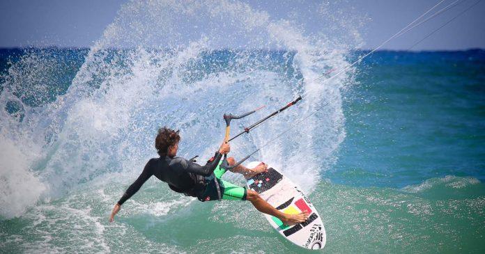 Marinha kitesurf