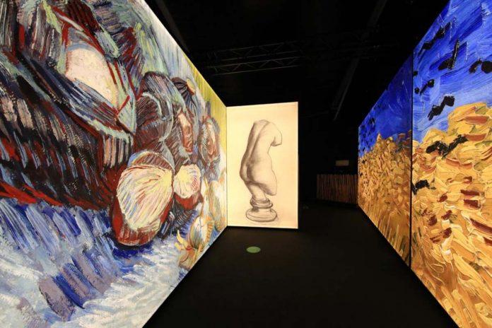 Meet Vicent Van Gogh exposição reabertura