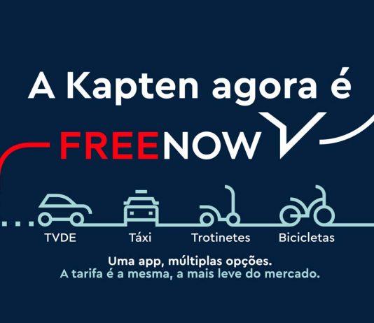 Kapten FREE NOW