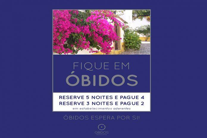 campanha Fique em Óbidos