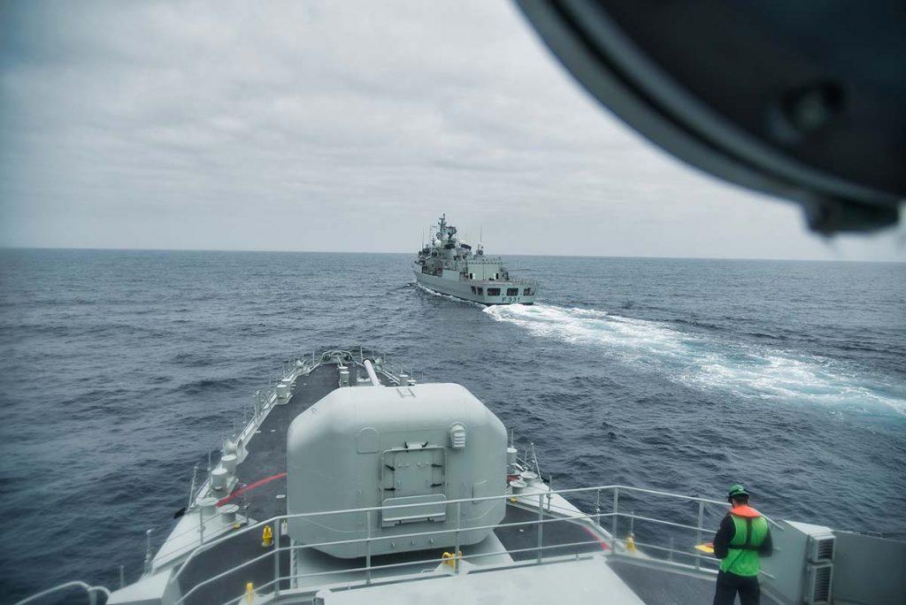 exercício da Marinha