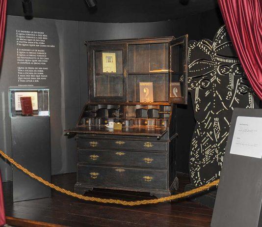 Escrivaninha de Fernando Pessoa no Museu do Pão
