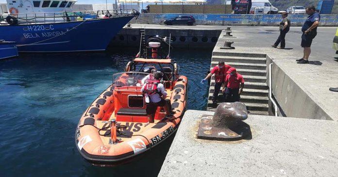 Marinha salvamento evacuação