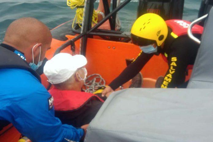 Marinha resgate