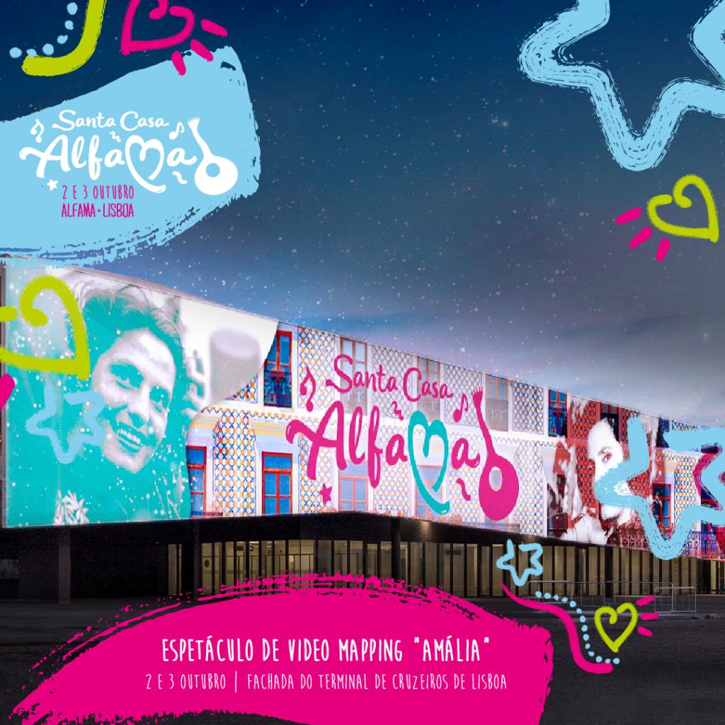 "ESPETÁCULO DE VIDEO MAPPING ""AMÁLIA"""