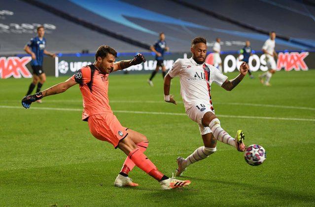Neymar e Marco Sportiello
