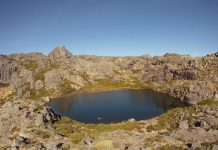 Lagoa Peixão na Serra da Estrela