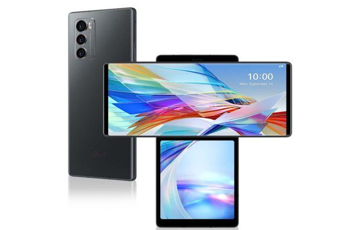 LG Wing e smartphone