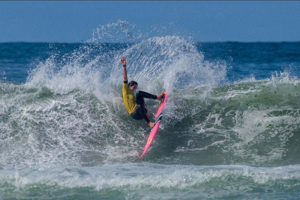 Teresa Bonvalot e  Liga MEO Surf