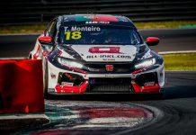 Tiago Monteiro e WTCR em Zolder