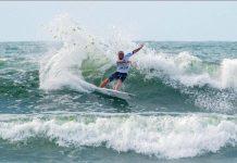 Vasco Ribeiro e Teresa Bonvalot e Liga MEO Surf