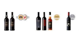 Vinhos Borges premiados