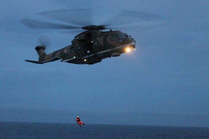 Resgate em alto mar nos Açores