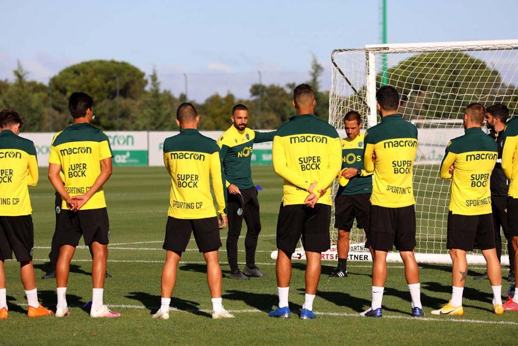 Sporting treino internacionais sub-21
