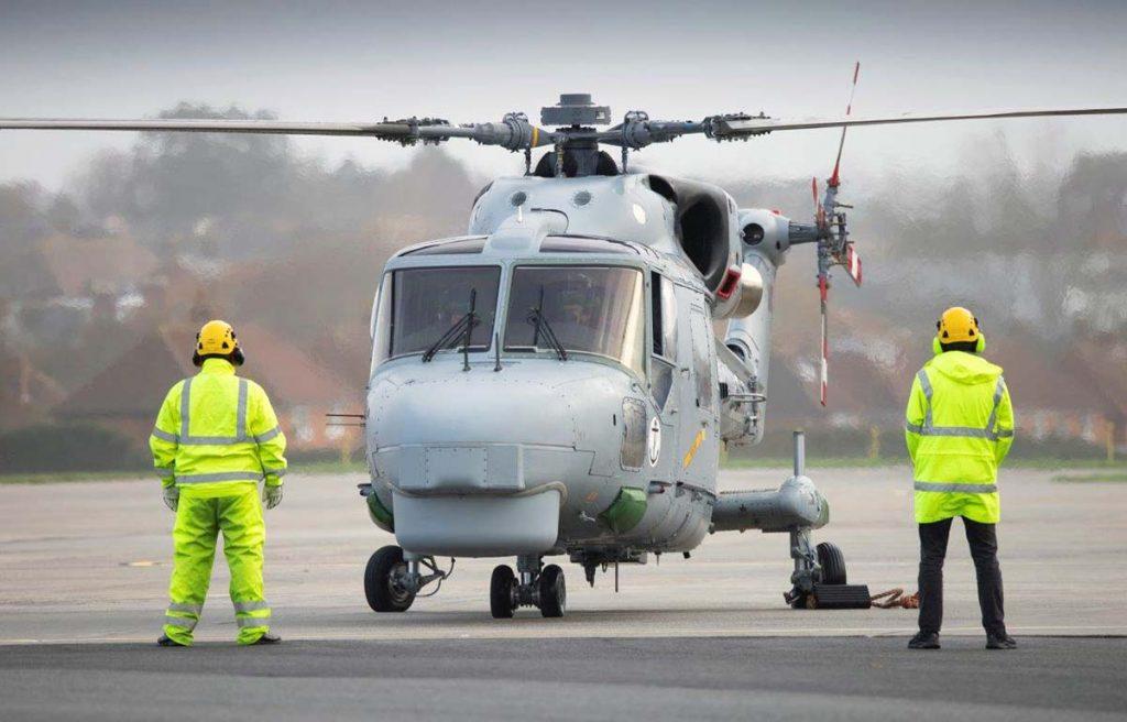 Pilotos da Marinha no Reino Unido