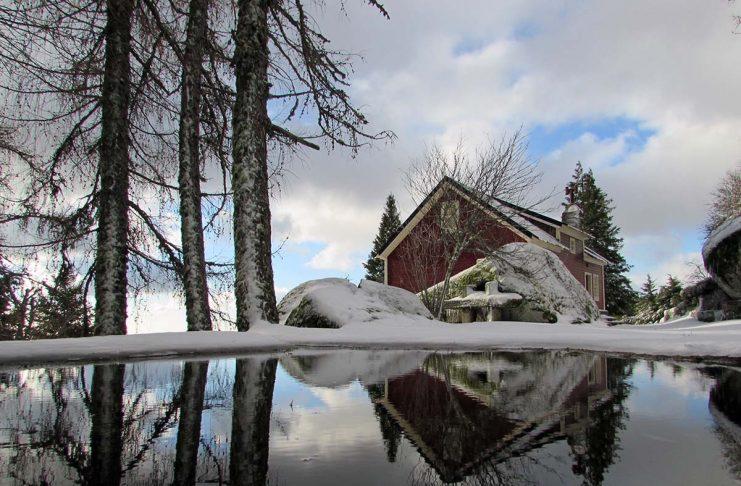 vício da Serra da Estrela neve