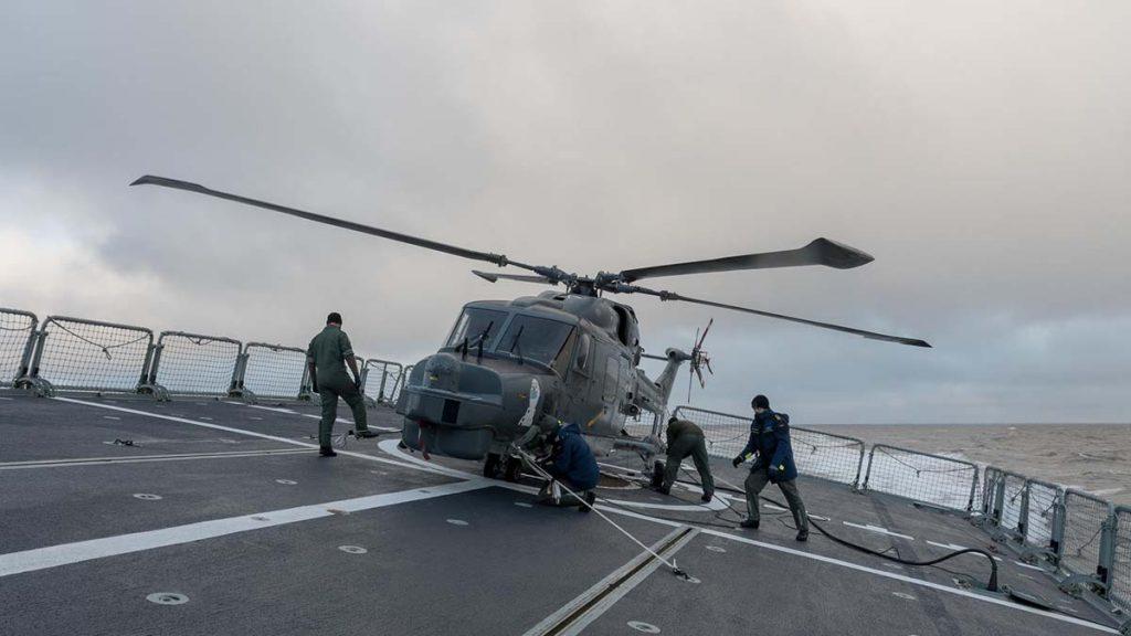helicóptero alemão Lynx MK88A