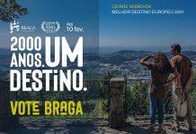 Braga Melhor Destino Europeu 2021