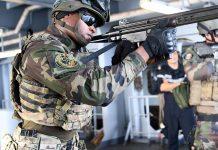 Fuzileiros segurança marítima no Golfo da Guiné
