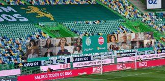 adeptos virtuais Estádio de Alvalade