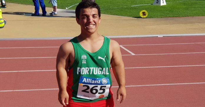 Miguel Monteiro recorde do mundo peso