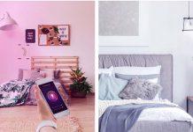lâmpadas inteligentes ambiente mais romântico