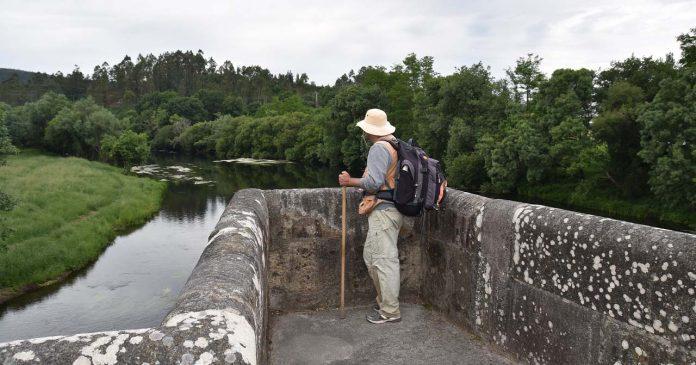 caminho Braga a Santiago de Compostela