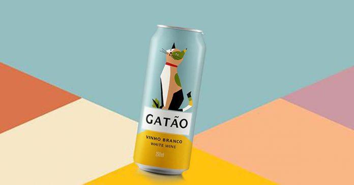 Gatão tem lata