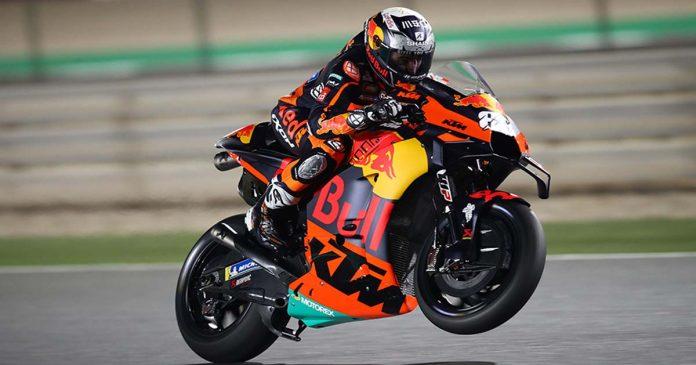 Miguel Oliveira testes Qatar