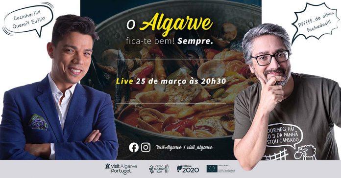 Nuno Markl e Vasco Palmeirim Cataplana Algarvia