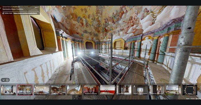 Visita Virtual Seminário Maior de Coimbra