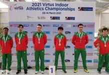 VIRTUS medalhas para Portugal