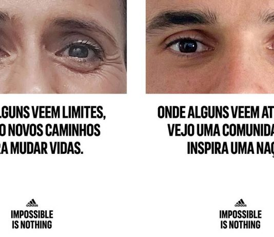 adidas campanha Impossible Is Nothing