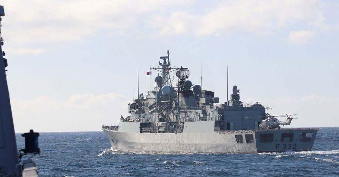Fragata Corte-Real NATO