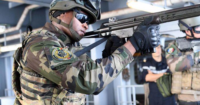 Fuzileiros na Operação Corymbe