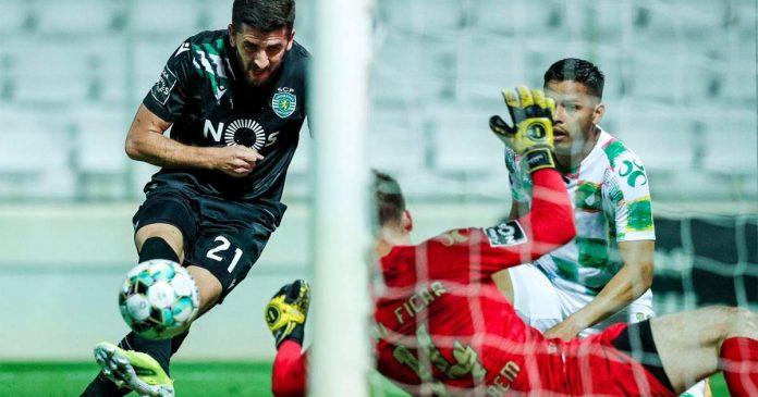 Sporting empata em Moreira de Cónegos
